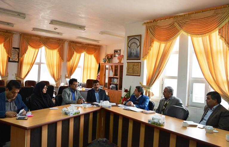 جلسه ستاد مديريت بحران شهرستان  در محل فرمانداري برگزار شد